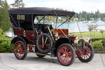 1907 Locomobile Model E 20hp 5-passenger Tourer  Chassis no. 1402 Engine no. 1664