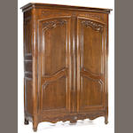 A Louis XVI oak armoire<br>late 18th century