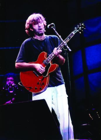 A 2001 Gibson ES-335, Serial No. EC001,
