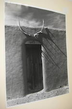 Todd Webb (American, 1905-2000); A Group of 8 Photographs from Georgia O'Keefe's Ghost Ranch House; (8)