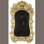 A Regence giltwood mirror<br>first quarter 18th century