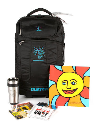 The Crossroads Artists Gift Bag by Burton A Wheelie Flight Deck weekend bag by Burton,