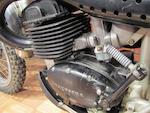 Ex-Steve McQueen,1971 Husqvarna 400 Engine no. MI3845