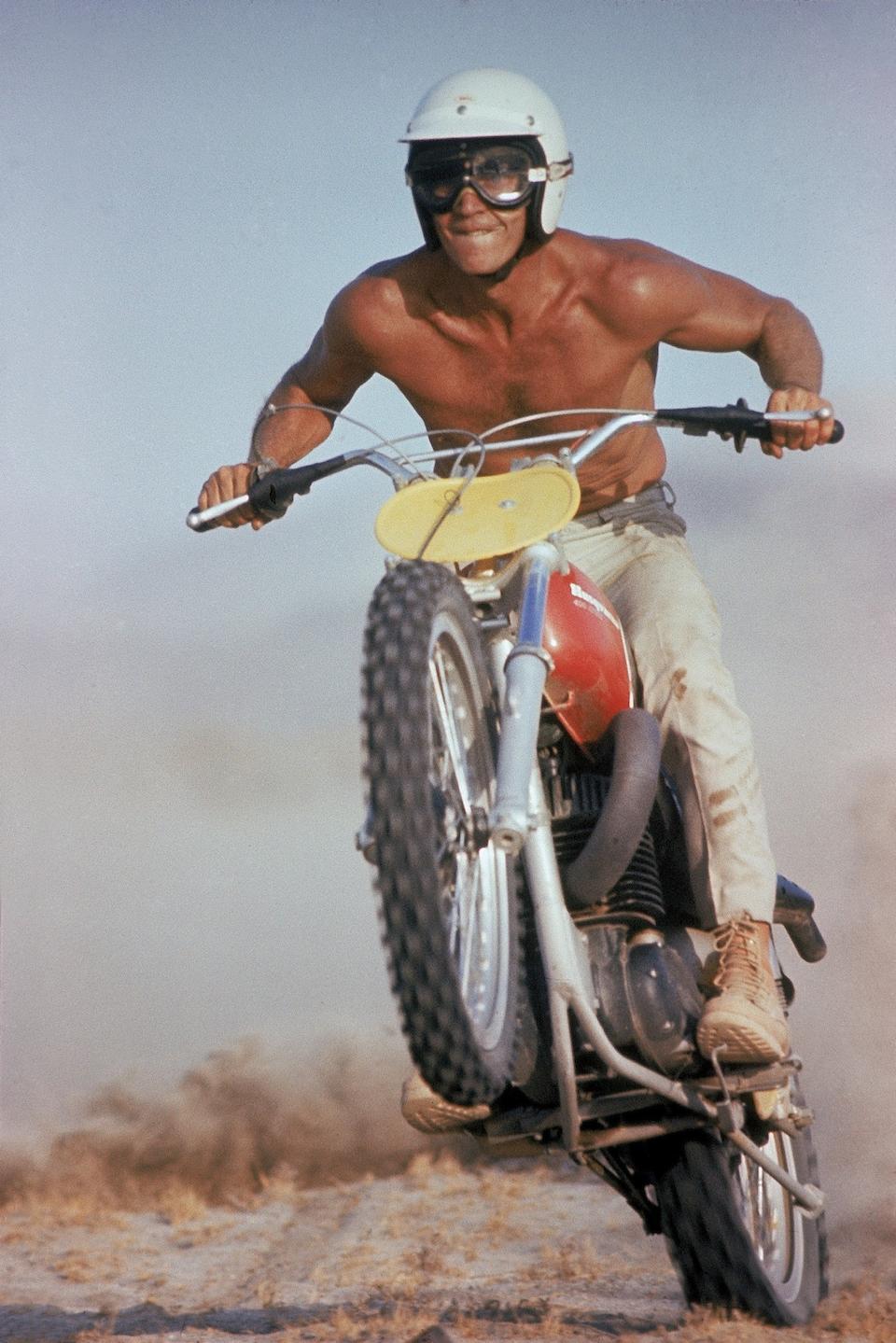 Ex-Steve McQueen, from the 1984 Estate Auction,1971 Husqvarna 400 Cross Frame no. MI3845 Engine no. MI3845