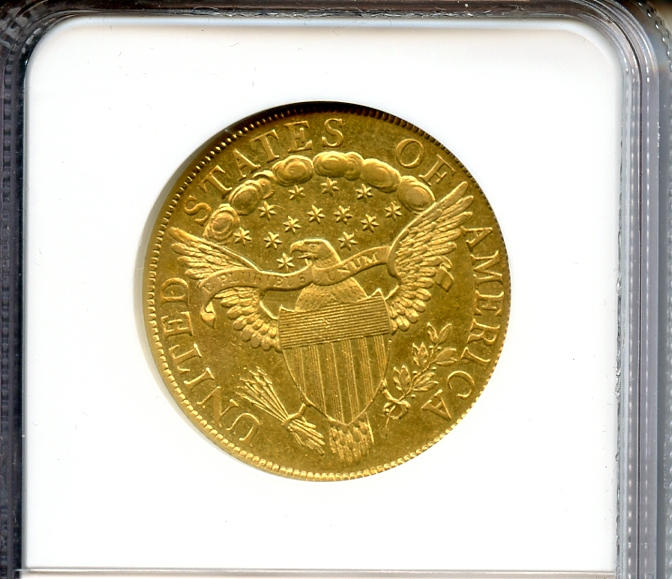 1801 $10 AU58 NGC