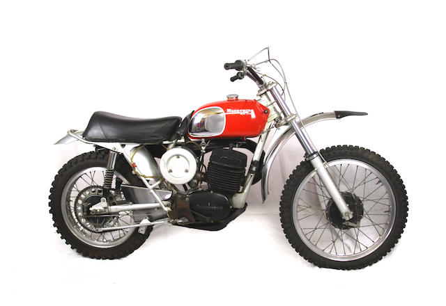 Ex-Steve McQueen, from the 1984 Estate Auction,1971 Husqvarna 400 Cross Frame no. MI3845 Engine no. MI3845