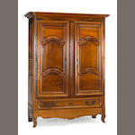 A Louis XV walnut armoire<br>mid 18th century