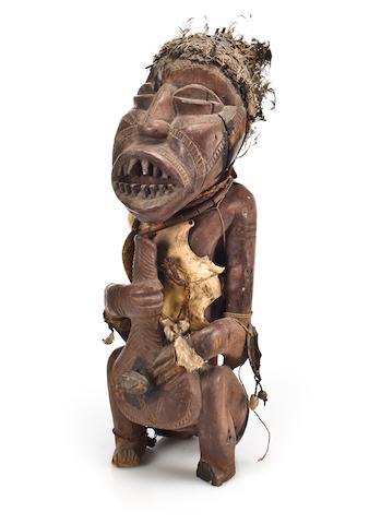 An African figure