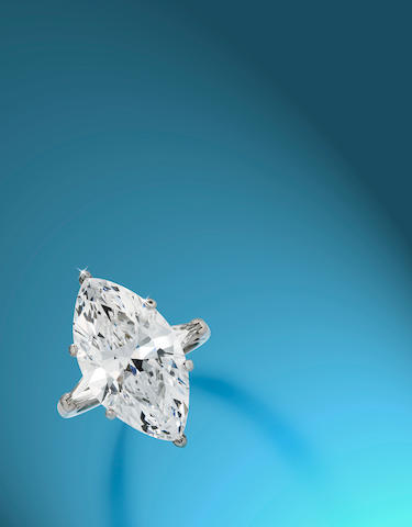 An important diamond solitaire ring