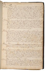 Journal and Log Book: A Hand-written Account of our proceedings with the Indian Emperor & King of Durian [commencing] April 5, 1680 1680-1681.