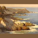 Brian Blood (American, born 1962) Coastal rocks, Pacific Grove, 2006 11 x 14in