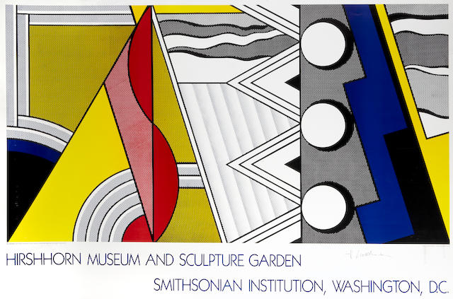 Roy Lichtenstein (American, 1923-1997); Hirshhorn Museum and Sculpture Garden, Smithsonian Institution, Washington;