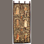A Gothic style Aubusson tapestry<br>fourth quarter 19th century