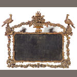 A Neoclassical style giltwood overmantel mirror<br>first half 19th century