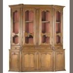A Louis XV style oak bibliothèque<br>second half 19th century
