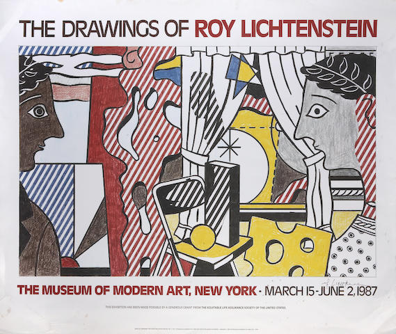 Roy Lichtenstein (American, 1923-1997); The Drawings of Roy Lichtenstein, MOMA, NY (Study for Cosmology);