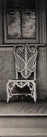 Minor White (American, 1908-1976); Unknown (Wicker Chair on Porch);