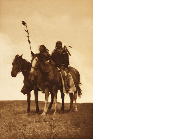 Edward S. Curtis (American, 1868-1952); Atsina Chiefs;