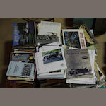 A quantity of motoring periodicals,