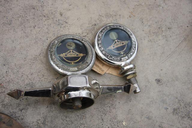Two moto-meters,