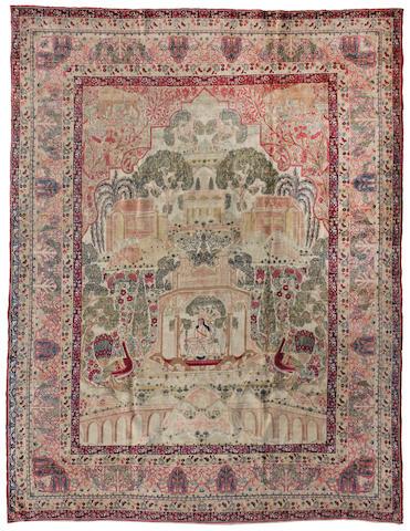 A Lavar Kerman carpet size approximately 9ft x 11ft 8in (274.3 x 355.6cm)