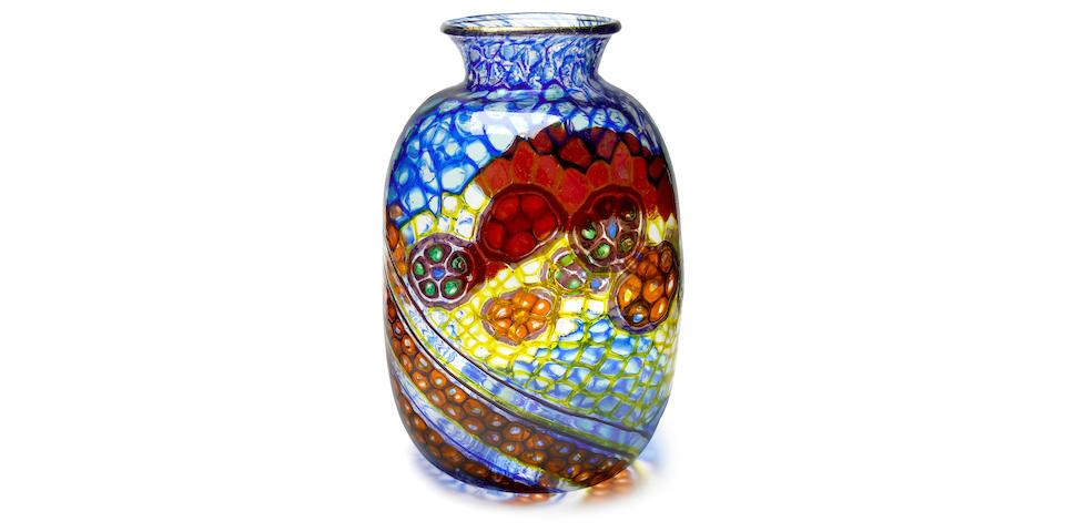 Vetreria Artistica Barovier Vetro Mosaico vase 1924-25