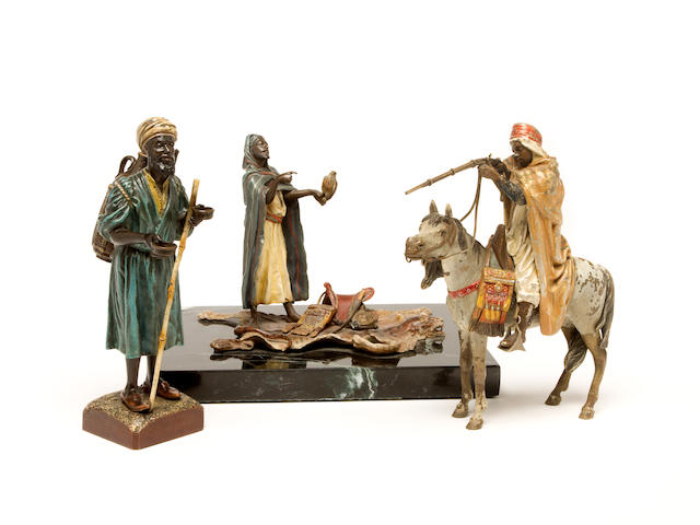 Vienna Bronzes (Austrian, late 19th/early 20th Century)  The hunters