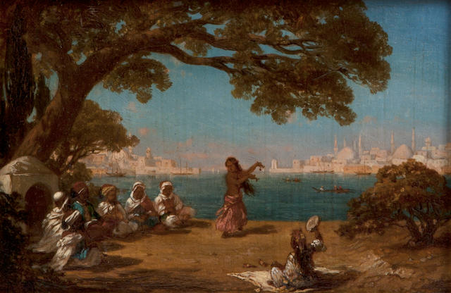 Antoine Melling, View of Bosphorus