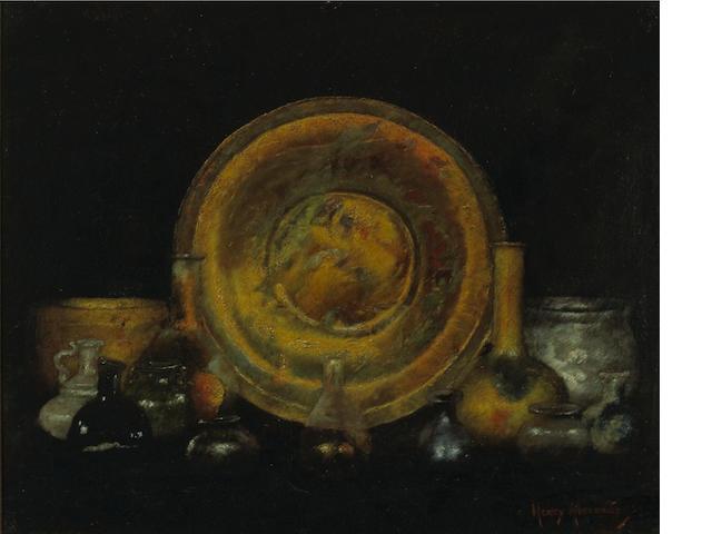 Henry Alexander (American, 1860-1894) Cyprus glass, 1894 15 3/4 x 19in