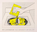 Roy Lichtenstein (American, 1923-1997); Roy Lichtenstein (Finger Pointing); Roy Lichtenstein, Yale University Art Gallery ; (2)