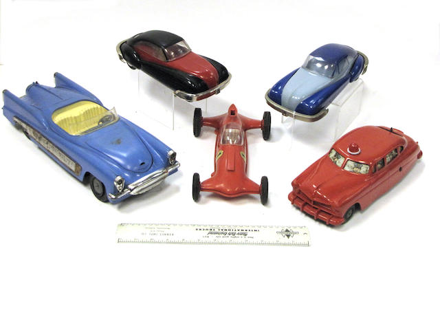 Plastic vehicles