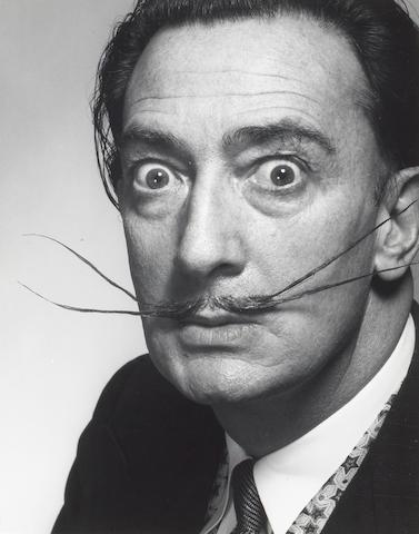 Philippe Halsman (American, 1906-1979); Dali's Moustache;