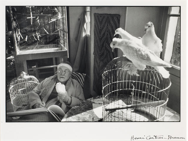 Henri Cartier-Bresson (French, 1908-2004); Henri Matisse, Vence, France;