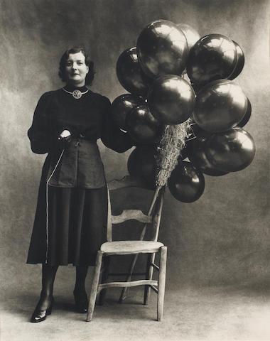 Irving Penn (American, 1917-2009); Marchande de Ballons, Paris;