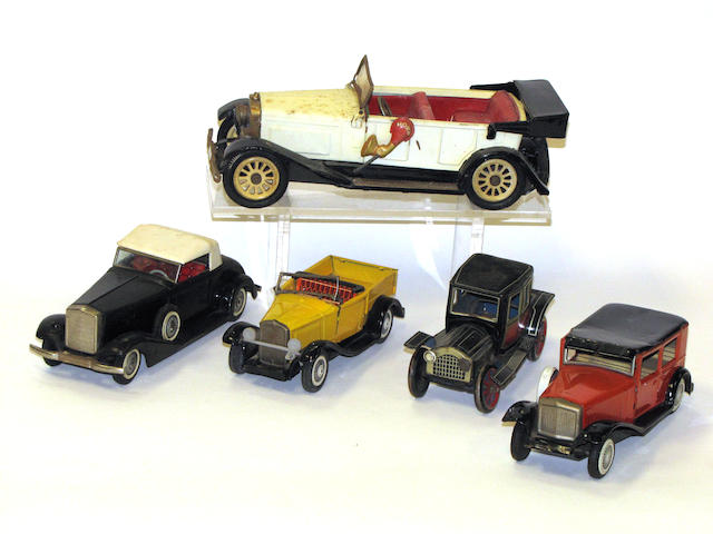 Tin toy grouping