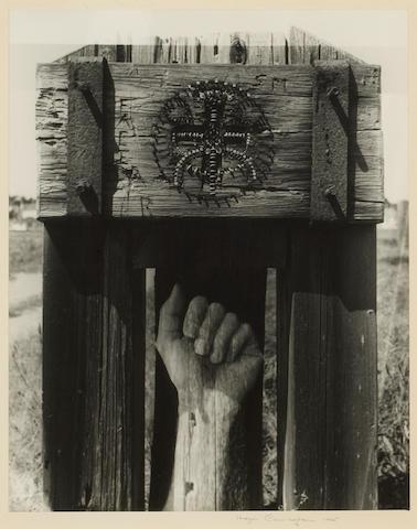 Imogen Cunningham (American, 1883-1976); Mendocino Motif;