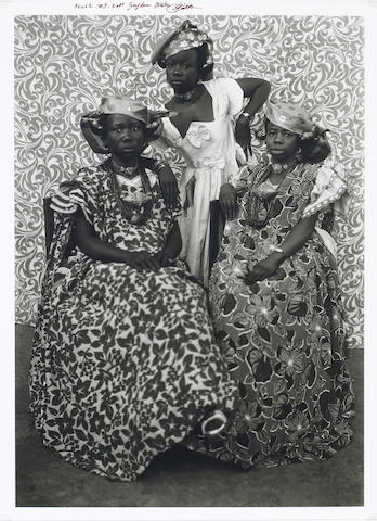Seydou Keïta (Malian, 1921-2001); The Girls from Mali;