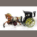 Cast Iron Hansom Cab