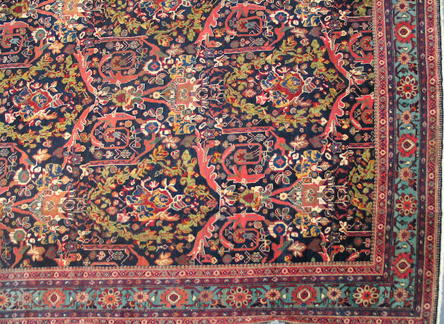 A Sultanabad carpet size approximately 10ft. 2in. x 14ft.