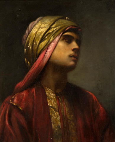 (n/a) Gabriel Paul Guillot (French, 1850-1914) An Arab prince