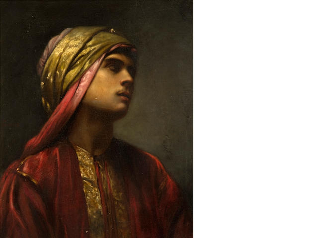 Gabriel Paul Guillot (French) An Arab prince