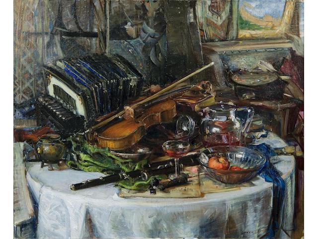 (n/a) Joseph Kleitsch (1882-1931) Highlights, circa 1928 38 1/4 x 46 1/4in