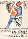 Oskar Kokoschka (Austrian, 1886-1980); Selbsbildnis von Zwei Seiten als Maler;