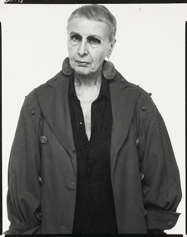 Richard Avedon (American, 1923-2004); Louise Nevelson, Sculptress, New York City, 5-13-75;