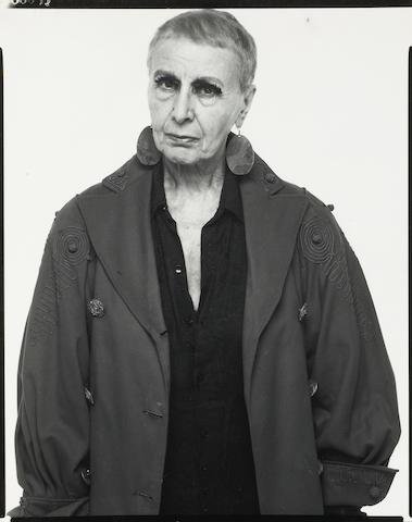 Richard Avedon (American, 1923-2004); Louise Nevelson, Sculptress, New York City, 5-13-75;