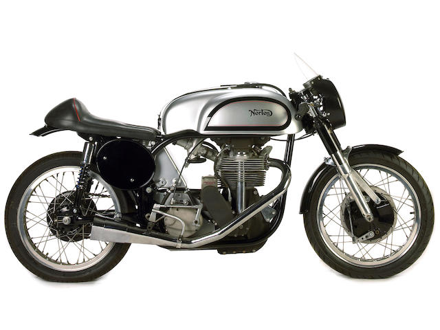 Ex-Buddy Parriot, 1961 and 1962 AFM Camption, 1967 ACA Champion, three owners from new,1959 Manx Norton 500cc Racer Frame no. 11M 97253 Engine no. 11M 97253