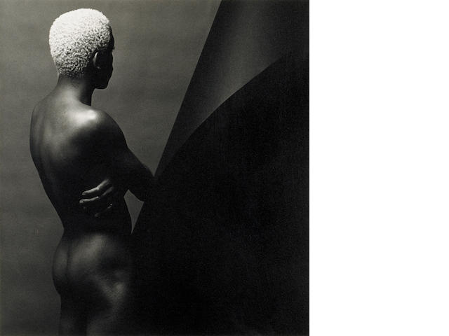 Robert Mapplethorpe (American, 1946-1989); Leigh Lee, N.Y.C.; Bruce, S.F.; (2)