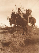 Edward S. Curtis (American, 1868-1952); A Group of Eight Images; (8)