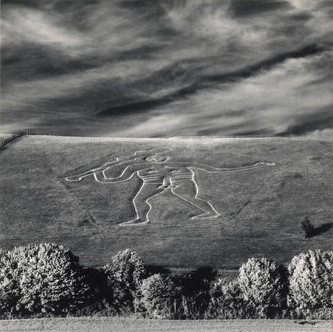 Michael Kenna (British/American, born 1953); FALL 2011 SALE Genie de la Science; Cerne Abbas Giant; (2)
