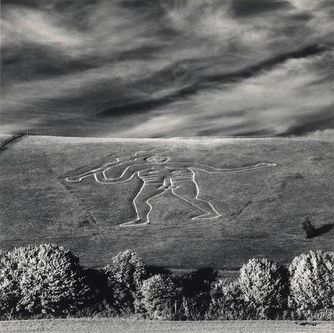 Michael Kenna (British/American, born 1953); Cerne Abbas Giant, Dorset England; Genie de la Science; (2)